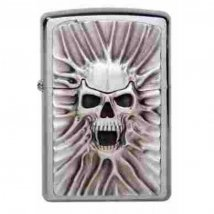 Zippo chrom gebürstet Scream of Sand