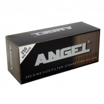 Angel Hülsen black 250St.