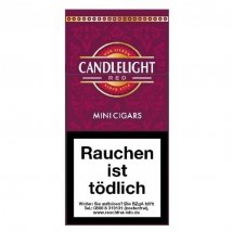 Candlelight Mini Cherry / Red Cigarillos