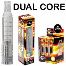 VIVO Clearomizer Dual Core