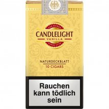 Candlelight 100% Wrapper Cigars Vanilla / Gold