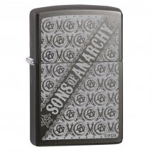 Zippo Gray Dusk Sons of Anarchy