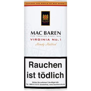 Mac Baren Virginia No 1