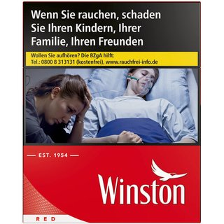 Winston Red OP 6,6 EURO (10x20)
