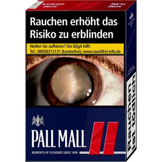 Pall Mall Red OP 6,6 EURO (10x20)