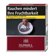 Dunhill International Red 9,50 EURO (10x20)