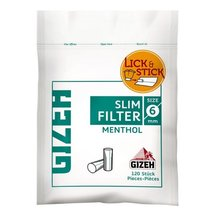 GIZEH Slim Filter Menthol 6mm 120er