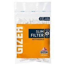GIZEH Slim Filter Aktivkohle 6mm 120er