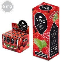 VIVO E-Liquid Erdbeere 10ml 6 mg/ml
