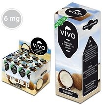 VIVO E-Liquid Kokos 10ml 6 mg/ml