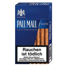 Pall Mall Blue XL Filter Cigarillos mit Naturdeckblatt...