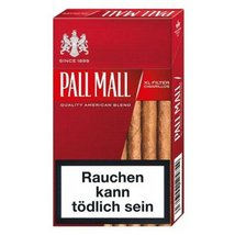 Pall Mall Red XL Filter Cigarillos mit Naturdeckblatt...
