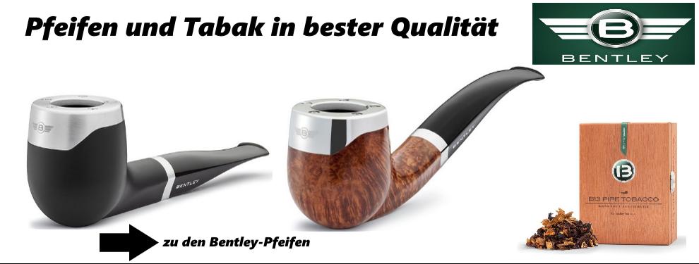 Bentley Pfeifen und Tabak